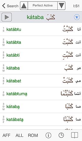Arabic Conjugator
